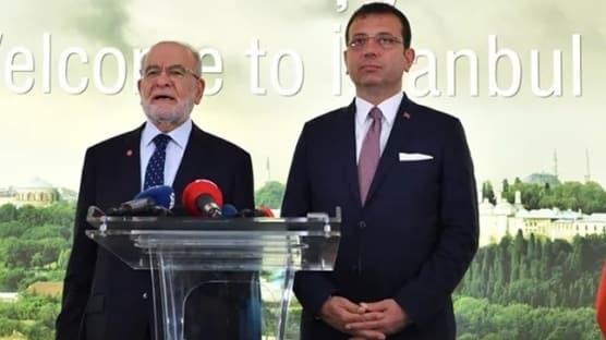 Skandalın arkasından CHP-Saadet ittifakı çıktı