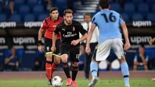 Hakan Çalhanoğlu Milan'ı taşıdı