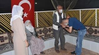Jandarmanın ikna ettiği terörist güvenlik güçlerine teslim oldu