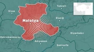 Pütürge'de 4,4 büyüklüğünde deprem