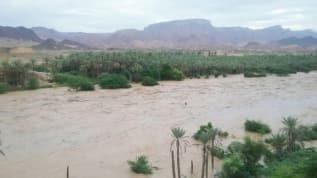 Yemen'de sel nedeniyle baraj çöktü