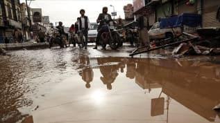 Yemen'deki Husiler selin vurduğu Sana için BM'den destek istedi