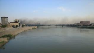 Bağdat'ta Yeşil Bölgeye füze saldırısı