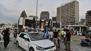 Lübnan'ın başkenti Beyrut patlama nedeniyle 'felaket bölgesi' ilan edildi