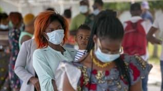 Afrika'da Kovid-19 vaka sayısı 1 milyona dayandı