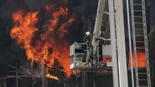 Hindistan'da Kovid-19 hastanesinde yangın: 8 öldü