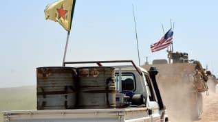 Suriye'de YPG'yi besleyen ABD üssü bombalandı
