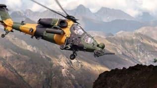 TurAz Kartalı Tatbikatı'ndan ATAK helikopterlerimiz belirlenen hedefleri tek tek imha ediyor