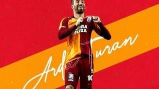 Arda Turan'a eskimeyen kulübü Galatasaray'dan büyük jest