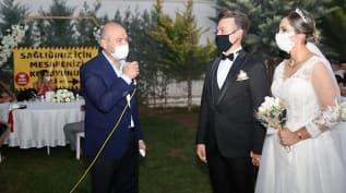 Bakan Soylu 'düğün salonu' denetimine katıldı