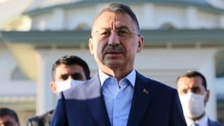 """Cumhurbaşkanı Yardımcısı Fuat Oktay; """"Ekonomimizin çarkları güçlü bir şekilde dönüyor"""" açıklamasında bulundu."""
