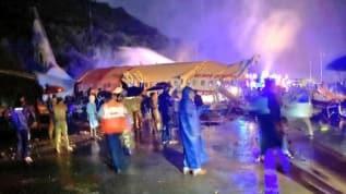 Dubai-Kozhikode seferini yapan 191 yolculu uçak iniş sırasında düştü!