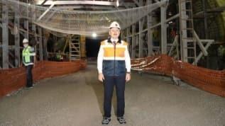 Honaz Tüneli'nde incelemelerde bulunan Bakan Karaismailoğlu: Önümüzdeki yıl hizmete sunulacak
