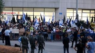 İsrail sokaklarında öfke!