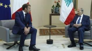 Lübnan Cumhurbaşkanı Avn, Macron'dan patlama anının uydu görüntülerini istedi