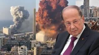Lübnan Cumhurbaşkanı Mişel Avn: Beyrut'taki patlamanın nedenleri netleşmedi