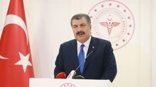 Sağlık Bakanı Fahrettin Koca: Tedbirde teyakkuz istiyoruz