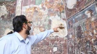 Sümela Manastırı'ndaki frekslerde tahribat oluştuğu iddiasına cevap!