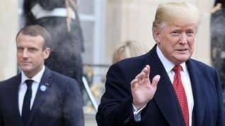 Trump ve Macron, Lübnan halkına yardım ulaştırılması için birlikte çalışacak
