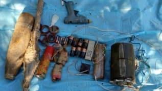 Bingöl'de PKK'lı teröristlere ait EYP ele geçirildi