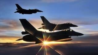Ermenistan'a gözdağı! Türk F-16'ları havalandı