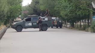 Afganistan'ın başkent Kabil'de Valisi Haydari'ye silahlı saldırı
