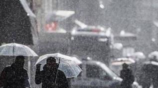 Meteoroloji'den bazı illerimize 'Sağanak yağış' uyarısı geldi