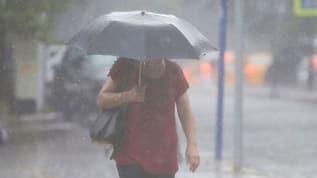 Meteoroloji'den sağnak yağış uyarısı: Ani sel, su baskını, yıldırım meydana gelebilir