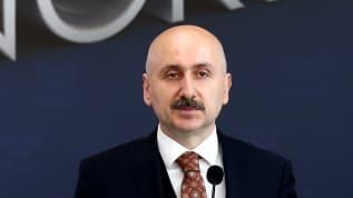 Ulaştırma ve Altyapı Bakanı Adil Karaismailoğlu'nun açıklamalarda bulundu
