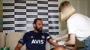 Fenerbahçe'de sağlık kontrolü başladı