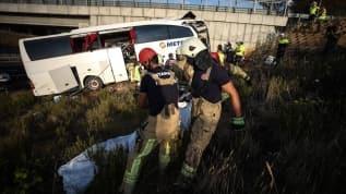 Korkunç kazada yaralananlar korku dolu anları anlattı: Şoför uyumuş