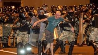 Belarus karıştı! Binlerce kişi gözaltına alındı