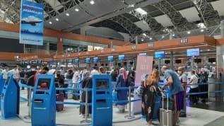 Sabiha Gökçen Havalimanı'nda günlük yolcu sayısı 61 bine ulaştı