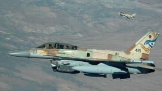Terör devleti İsrail, Hamas'a ait Gazze'deki bir gözetleme noktasına saldırdı