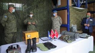 Türkiye, Kosova ordusuna 743 bin dolarlık hibede bulundu