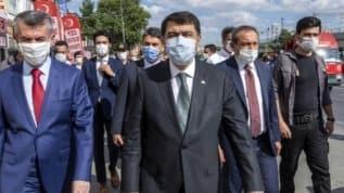 Ankara Valisi Şahin KOVID-19 önlemlerini denetledi