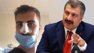 Bakan Koca'dan Ağrı'da saldırıya uğrayan sağlık çalışanına destek