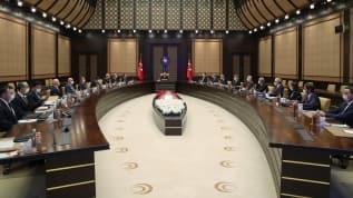 Beştepe'de Başkan Erdoğan başkanlığındaki toplantı başladı
