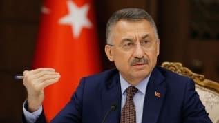 Cumhurbaşkanı Yardımcısı Oktay'dan ''Mavi Vatan'' mesajı