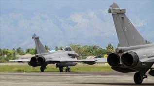 Akdeniz'de Türkiye karşıtı ittifak! Fransız savaş uçakları Kıbrıs Rum kesiminde