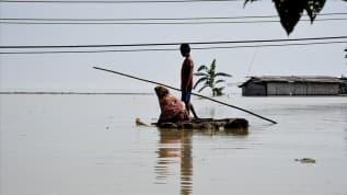 Hindistan'daki sel felaketlerinde ölü sayısı 246'ya yükseldi