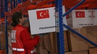 Türk Kızılayı'ndan Yemen'deki ihtiyaç sahibi engellilere gıda yardımı