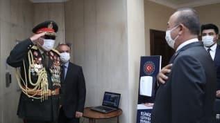 Bakan Çavuşoğlu, Raşid Dostum'la bir araya geldi