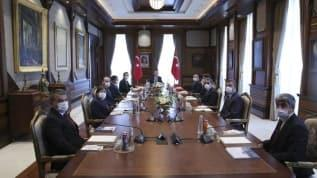 Başkan Erdoğan AA Yönetim Kurulu üyelerini Külliye'de kabul etti