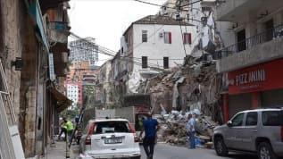 Beyrut'taki patlama hastaneleri de vurdu
