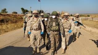 İdlib'de 24'üncü Türk-Rus Birleşik Kara Devriyesi icra edildi