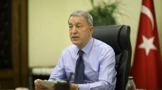 Milli Savunma Bakanı Akar'dan Yunanistan ve Doğu Akdeniz mesajı