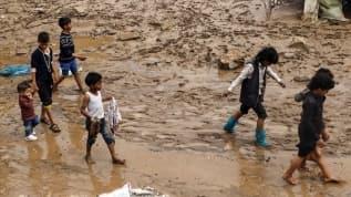 Yemen'deki sel felaketinde ölenlerin sayısı 174'e ulaştı