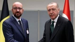 Başkan Erdoğan, AB Konseyi Başkanı Michel ile görüştü