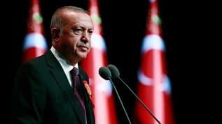 Başkan Erdoğan'dan Yunanistan ve Fransa'ya cevap: Doğu Akdeniz'de hakkımızı yedirmeyiz